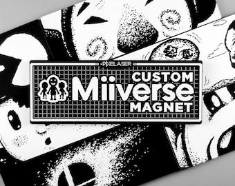 CUSTOM Miiverse Post Magnet