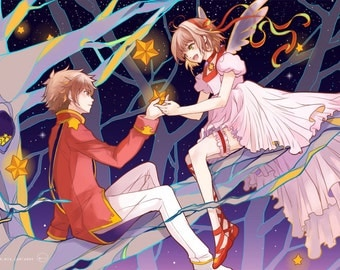 Card Captor Sakura High Quality Poster anime 11x17 Print