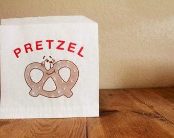 Clearance- Pretzel Favor Bags- 1 Dozen