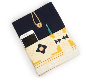 iPad Case - Desert Blanket with Button