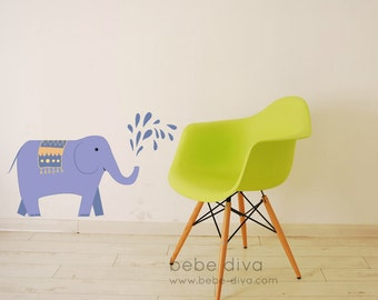 Jungle Wall Decals, Jungle Decal, Safari Wall Decals, Nursery Wall Decals, Wall Decals, Wall Decals Nursery, Baby Wall Decals, Elephant,