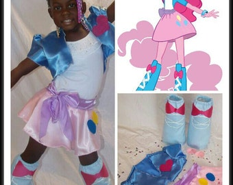 Pinkie Pie Inspired My Little Pony Costume Kid/Adult/Plus sz avail
