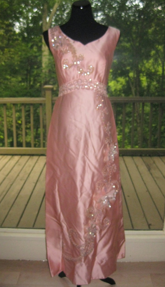 size 16 vintage prom dress...full length picture