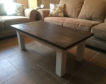 Simple Farmhouse Coffee Table