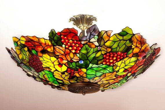 Tiffany Grapes pendant lamp