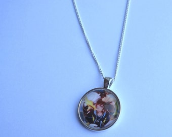 We're Back! - Sora, Donald and Goofy Kingdom Hearts 2 Necklace