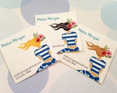 Business Cards, Stylist Cards, Custom Business Cards, Set of 48