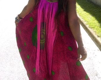 Dress in loincloth wax