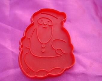 Plastic Santa Cookie Cutter
