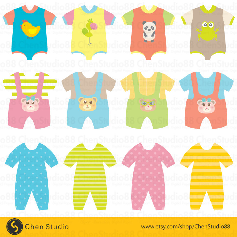 baby clothes clipart free - photo #33
