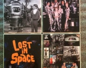 Lost in Space TV Show Ceramic Coasters - set of 4