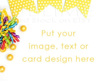 Styled Stock Photography / Birthday Party Stock Photo / Party Styled / Birthday background / Bday party / Digital Image / StockStyle-449