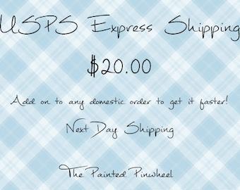 Flat Rate Envelope Express Shipping**