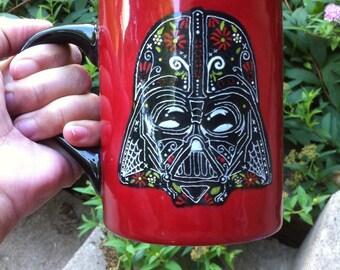 Star Wars Sugar Skull Mug Darth Vader and/or Stormtrooper