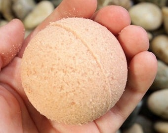 Grapefruit Bath Bombs - Grapefruit Bath Fizzy - Essential Oil Bath Bomb