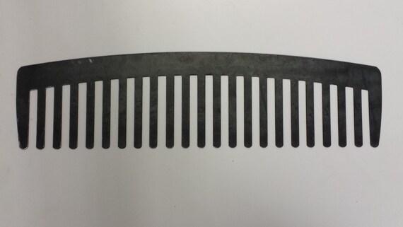 CNC Plasma Comb Salon or Barbor Shop Metal Metal Sign Powder Coated or Raw Steel