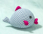 Sexy-lips Fish PDF Sewing pattern & tutorial | stuffed animal | soft toy | softie
