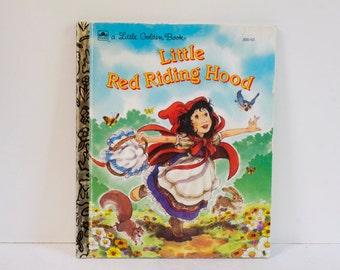 Vintage Little Red Riding Hood Little Golden Book