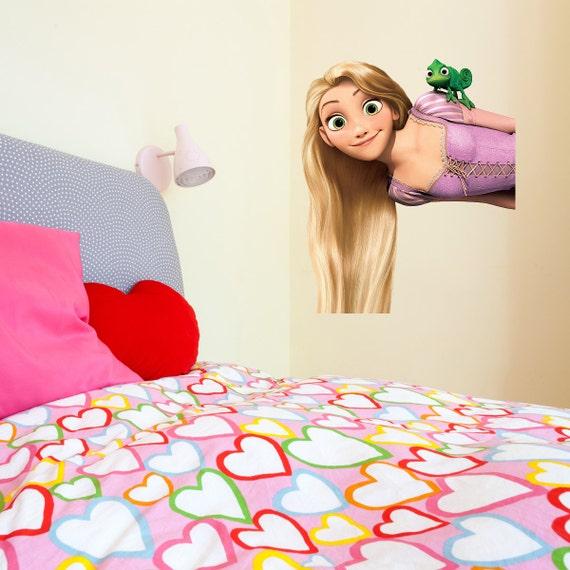 tangled rapunzel kids girls bedroom colour vinyl decal wall disney rapunzel and childs bedroom on pinterest