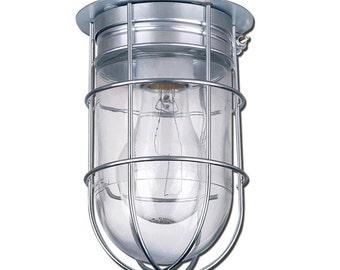 Caged barn light BL04CWG