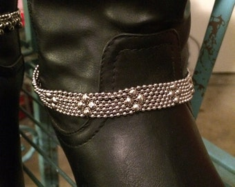 Classic Boot Belt-Ball & Chain Jewelry