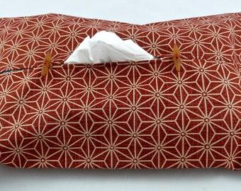 Case box red handkerchiefs