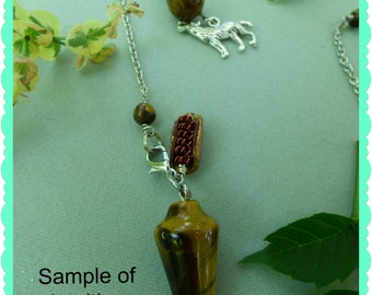 Custom Intuitive Spirit Bead™ Pendulum