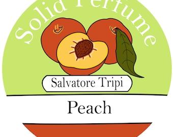 PEACH Handmade Solid Perfume 10g  by Salvatore Tripi - Italian Recipe