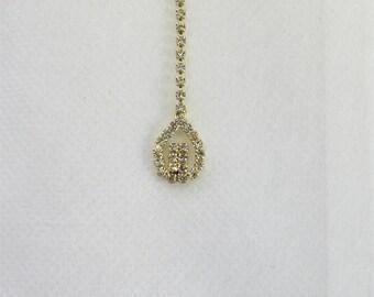 Indian Rose Gold Tikka/Tika/ Indian Matha Tikka/ Indian Headpiece/Headpiece Jewelry/Mexican Tikka/Small Tikka/Headpiece tikka Jewelry/Teeka