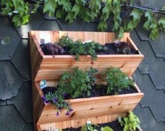 Vertical planter,planter box,flower planter,flower box,garden planter,hanging planter,wall planter,hanging flower planter,hanging boxes