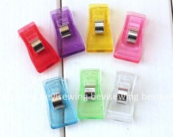 20pcs of Quilt  patchwork clips/handmade supplies/Sewing supplies/Patch Clips/Plastic Positioning Clips