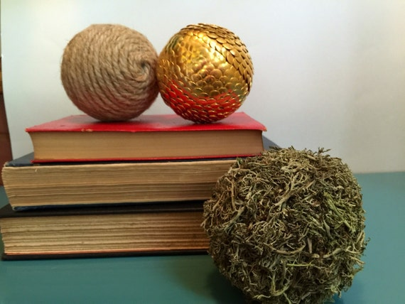 Twine Moss Amp Gold Vase Filler Balls Bowl Filler Shelf