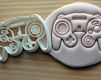 Gamecube Controller Kids Console Play Cookie Cutter -/- Brand New -/- Made To Order -/- Made From Biodegradable Material