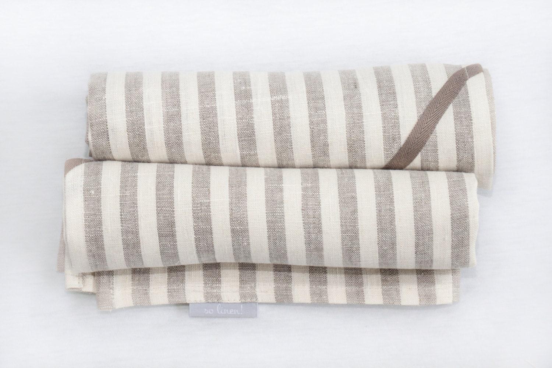 kitchen towel set linen kitchen towels stripes