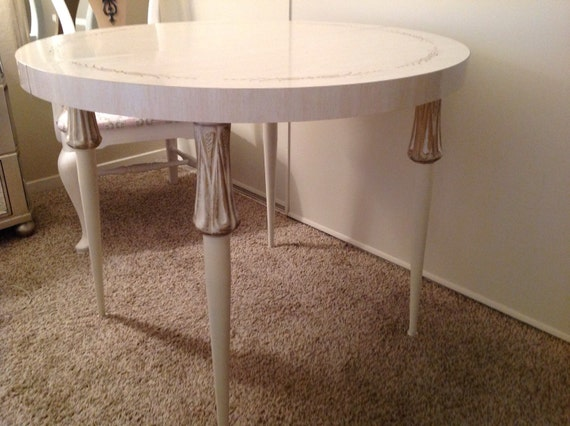 Vintage Hollywood Regency Dining Table By Pinkmafiosa On Etsy