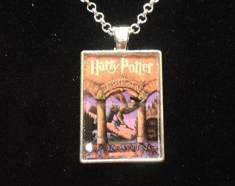 Harry Potter and the Sorcerer's Stone book pendant or keyring