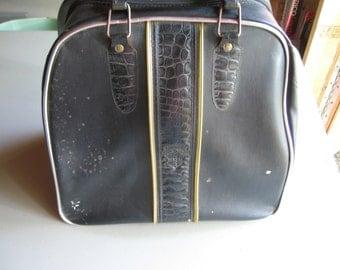 Black Vinyl Stebeo Bowling Bag
