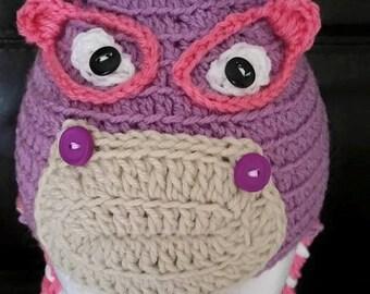 Crochet Nurse Hallie Hat