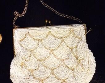 Beautifully beaded vintage purse