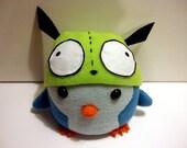 Picky Penguins: Handmade Plushie w/ GIR hat