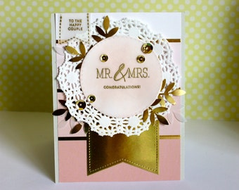Wedding Card Mr. & Mrs.