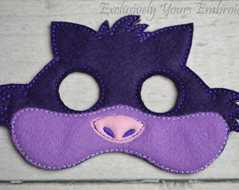 Smiling Cat Children's Mask  - Costume - Theater - Dress Up - Halloween - Face Mask - Pretend Play - Party Favor