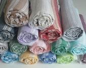 Turkish Towels Wholesale, Thin Palace Peshtemal, Turkish Beach Towels, Sarong- Pack 2 - 50PCS Palace