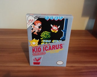 NES Kid Icarus - Repro Box NO Game Included