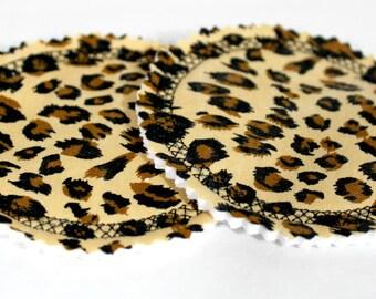 Cheetah Print Nursing Pads, Leopard Print Nursing Pads, Breastfeeding Pads, Breast Feeding Pads, Absorbent Nursing Pads for Breastfeeding
