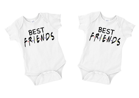 Baby Onesies - Best Friends