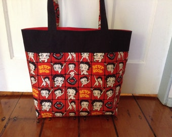 Betty Boop tote LAST ONE