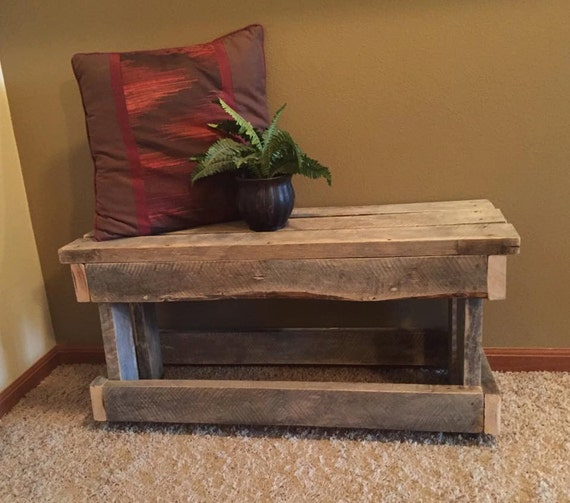 Rustic Wood Pallet Furniture Wooden Shoe By Bandvrusticdesigns