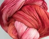 Strawberries and Peaches - Primo fingering Merino/Cashmere/Nylon - SALE 20.00USD+ship 2 available