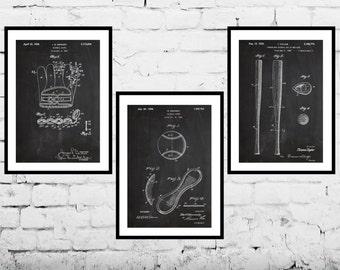 Baseball Poster, Baseball Patent, Baseball Prints, Baseball Gifts, Baseball Art, Baseball Wall Decor, Baseball Glove, Baseball, Baseball bat